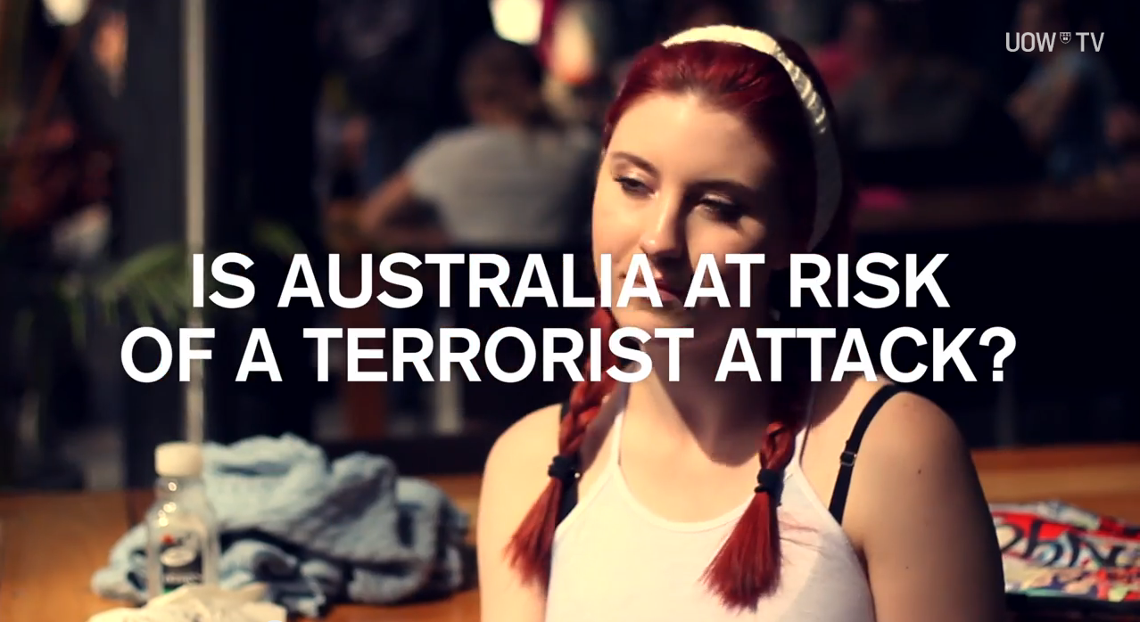 Pop Up – Terrorism Threat Level