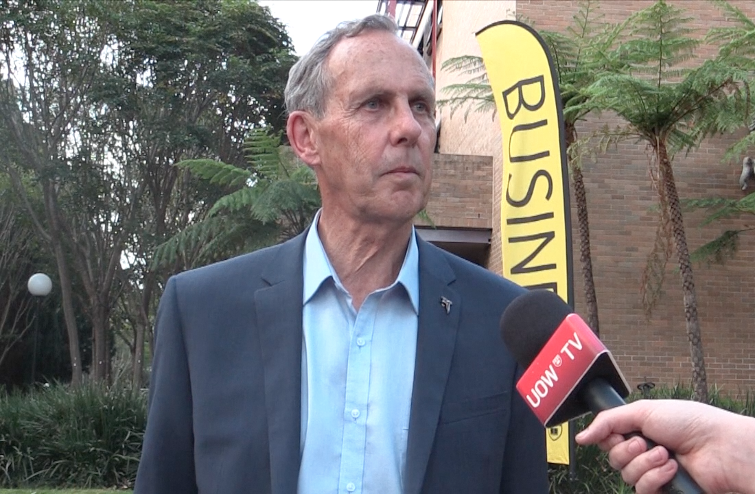 Bob Brown comes to town