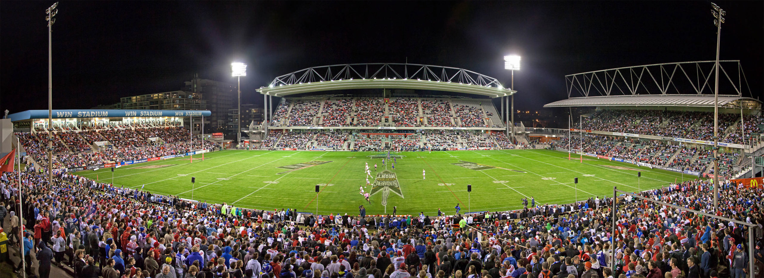 Illawarra Dragons celebrate 100 games at WIN Stadium