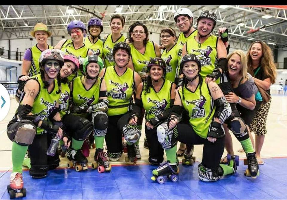 Roller derby packs a punch