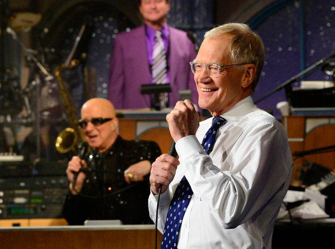 Letterman's final sign off