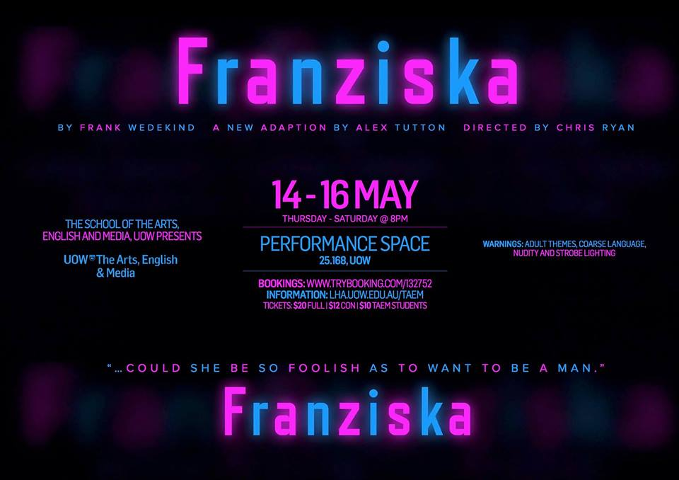 Gender in spotlight for Franziska opening night