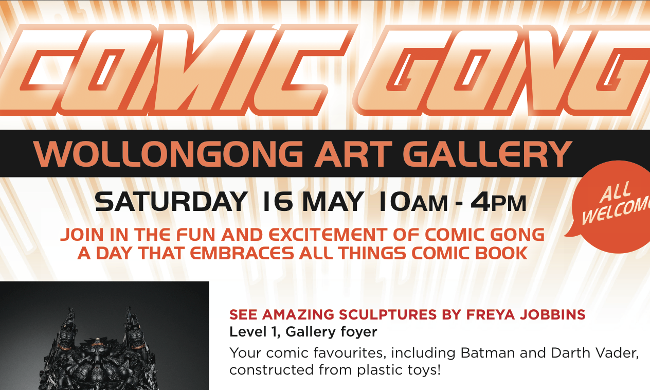 Wollongong Art Gallery to host Comic Gong
