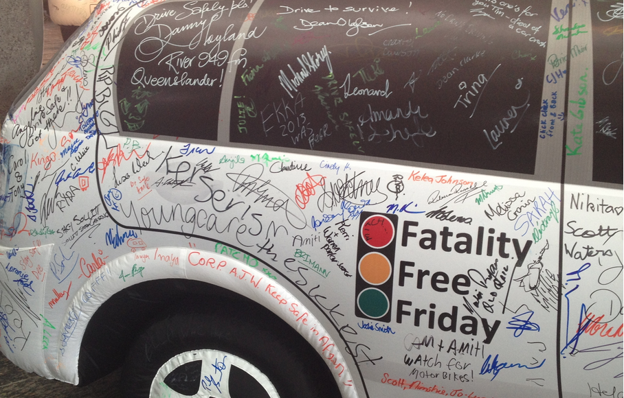 Will you make the pledge? #fatalityfreefriday