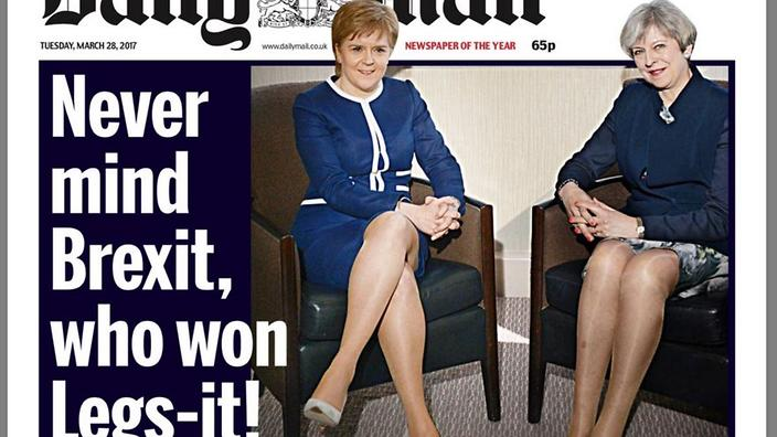 Daily Mail's 'Legs-it' headline fuels fiery sexism debate