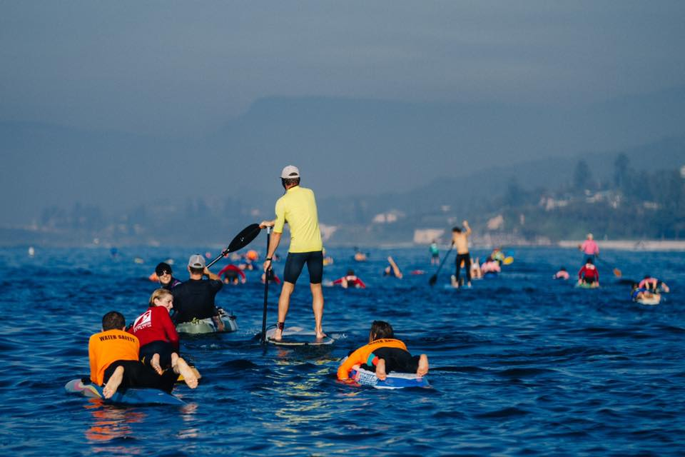 Paddling and pedalling for a cause