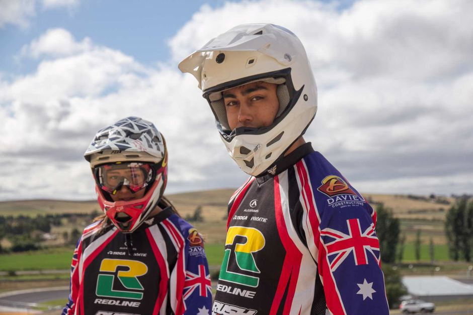 BMX siblings ride for national titles
