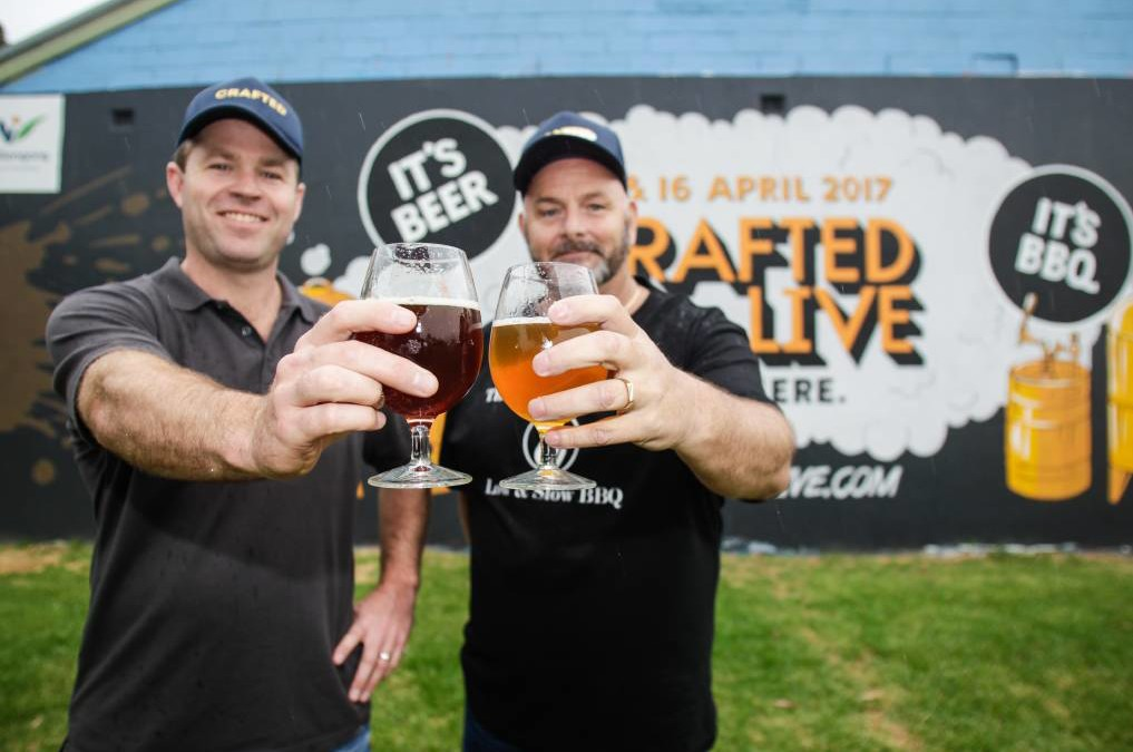'Crafted Live' beer, BBQ festival set to sizzle in Wollongong