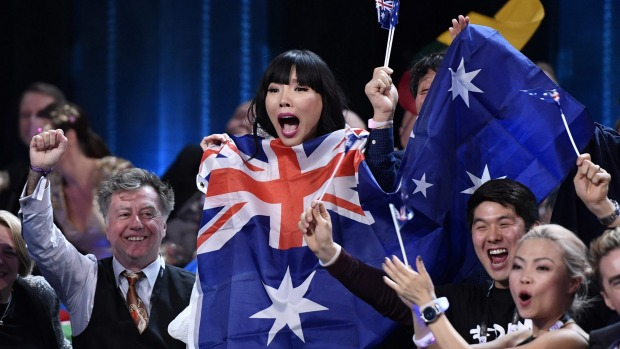 Australia in Eurovision? Say what?