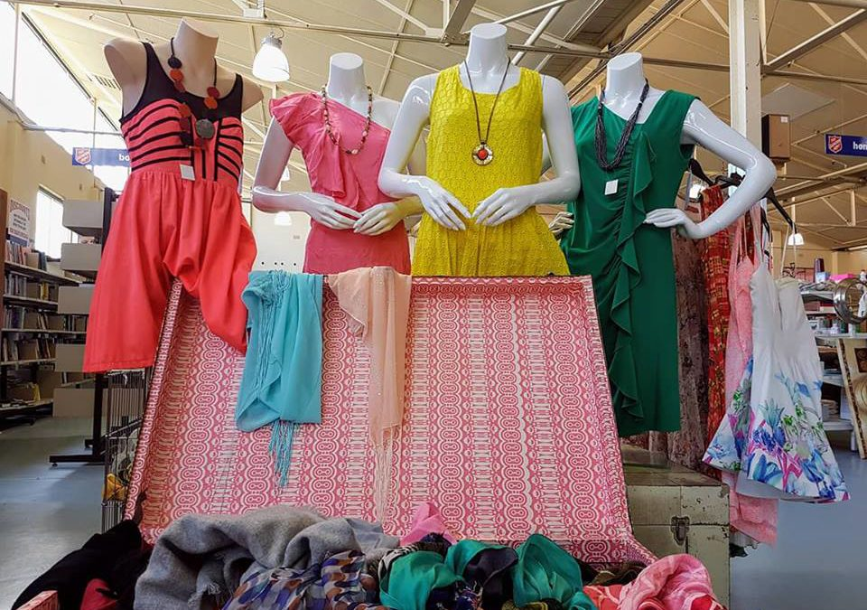 Stylish sustainability on show during National Op Shop Week