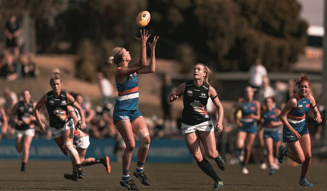 AFLW on the rise despite crowd numbers