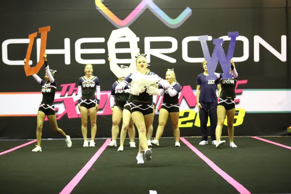 Cheerleading – high risk, high flying sport
