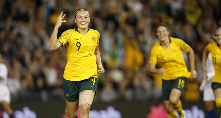 Focus on women in sport after Foord named in Matildas World Cup team
