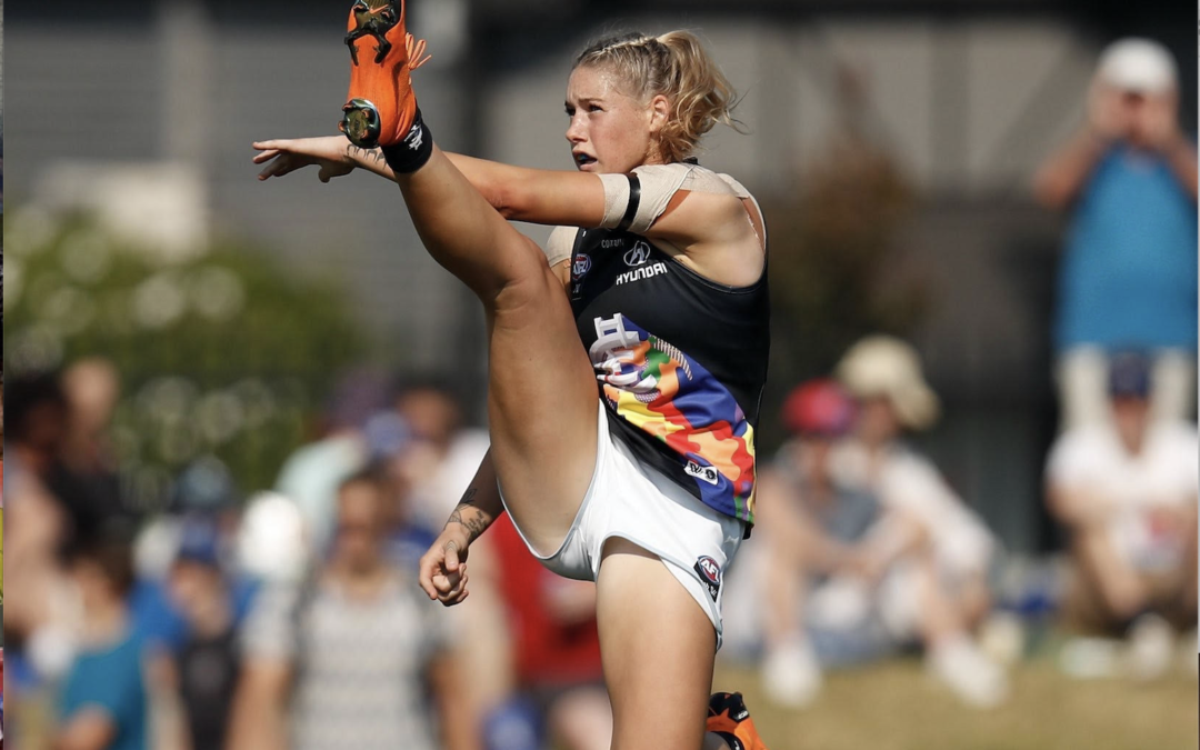 Iconic Taylah Harris photo chosen as finalist for women's sport photography award