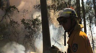 Volunteer firefighters battle mental illness