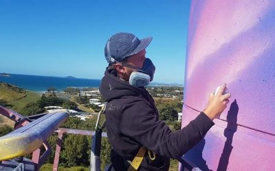 Colouring the streets of your town: the artists behind the masks