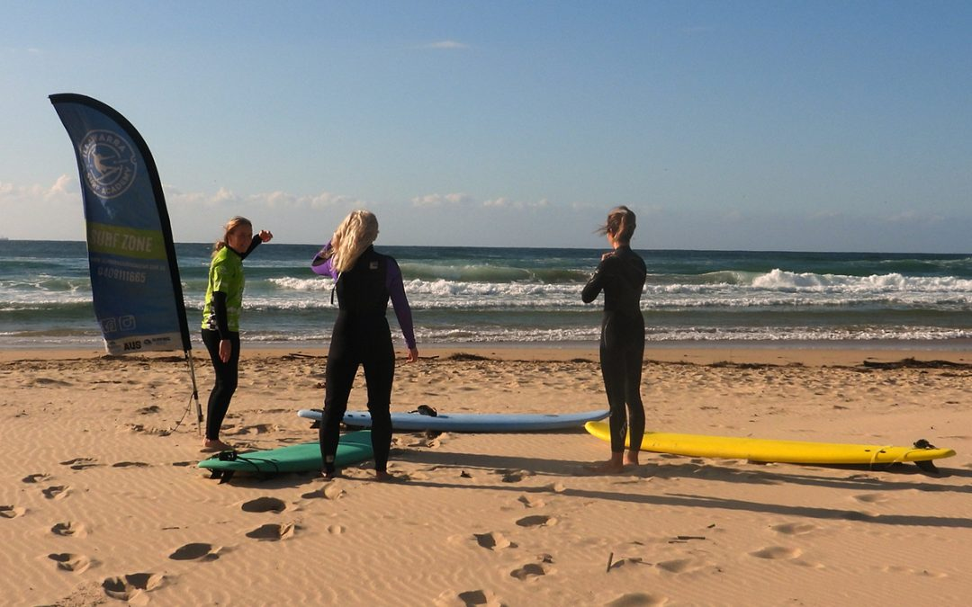 Female surfers unite to create safe Wollongong surf scene