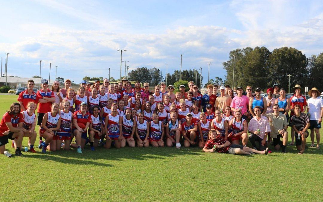 Wollongong Bulldogs women's squad overflowing ahead of season launch