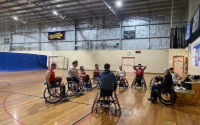 Wollongong Roller Hawks back on the court after a 20-month break
