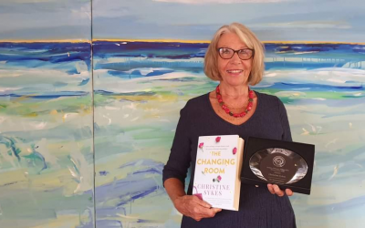 Local author launches new book only months after her debut novel wins prestigious award