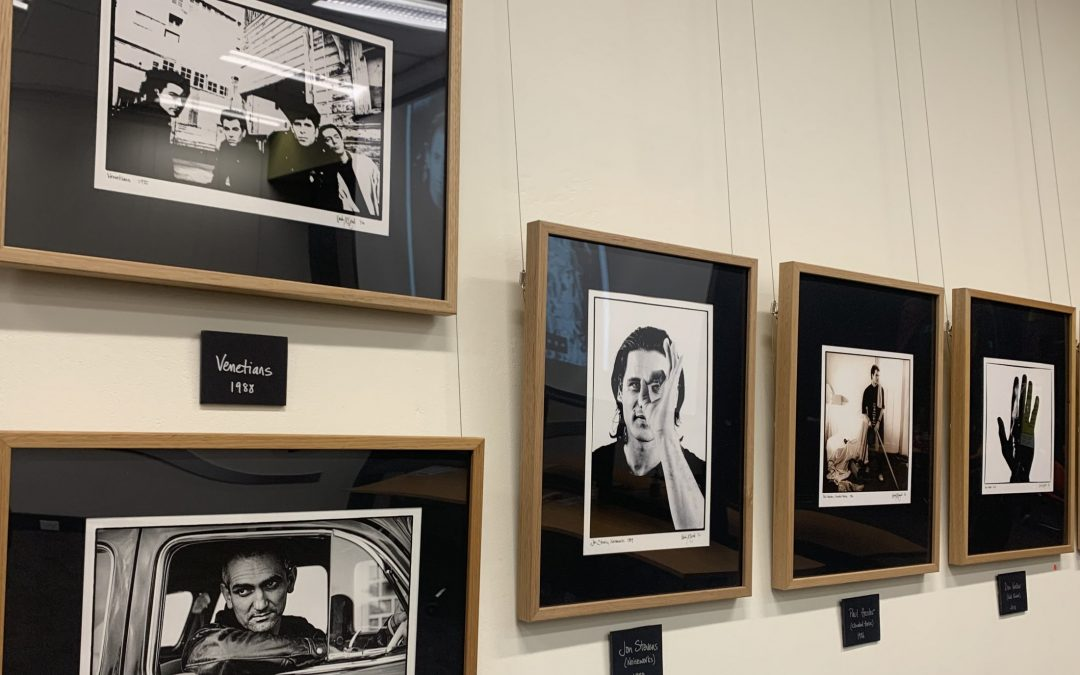 Award-winning international music photographer exhibits new book in Wollongong City Library